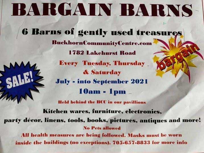 Bargain Barns Sale
